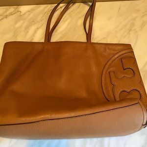 Tory Burch tote brown leather